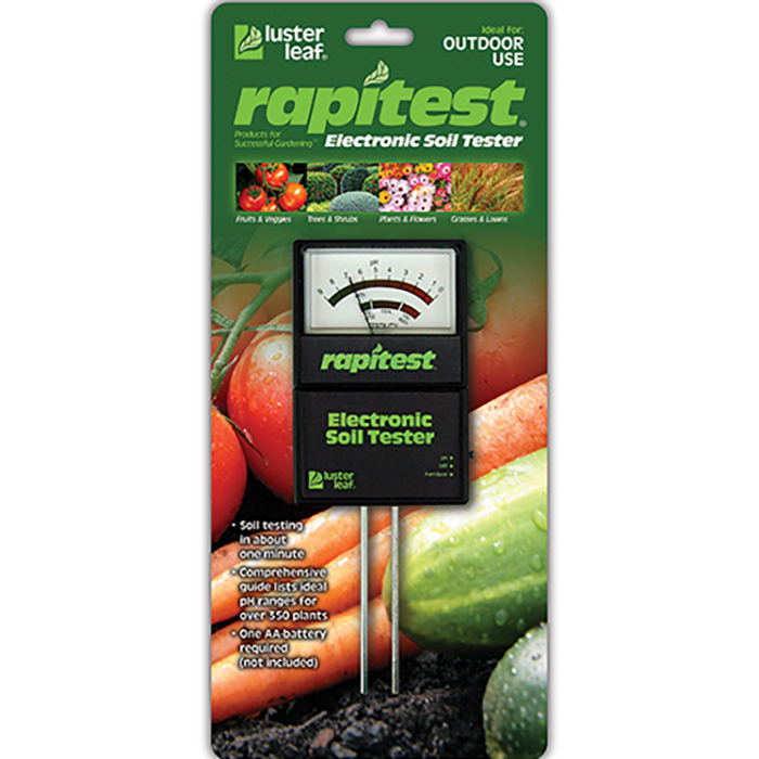 Electronic Soil Analyzer