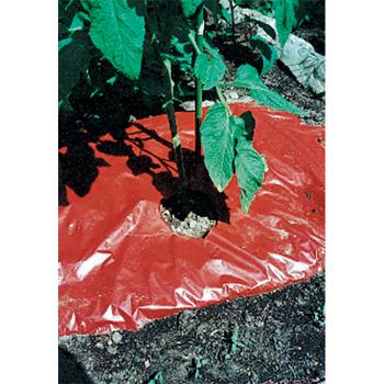 Srm Red Plastic Mulch 48 Inch X 100 Foot