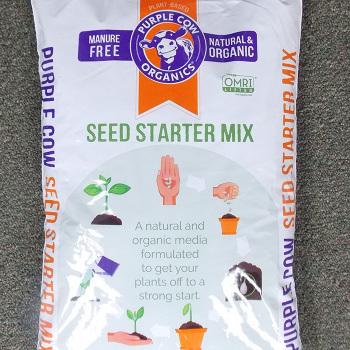 Purple Cow Organics Seed Starter Mix - 12 Quart