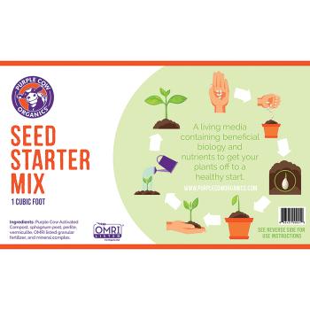 Purple Cow Organics Seed Starter Mix