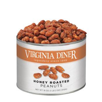 Honey Roasted Peanuts - 18 oz.