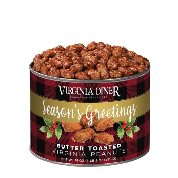 Season's Greetings Butter Toasted Peanuts - 10 oz.