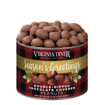 Season's Greetings Chocolate Covered Peanuts - 10 oz.