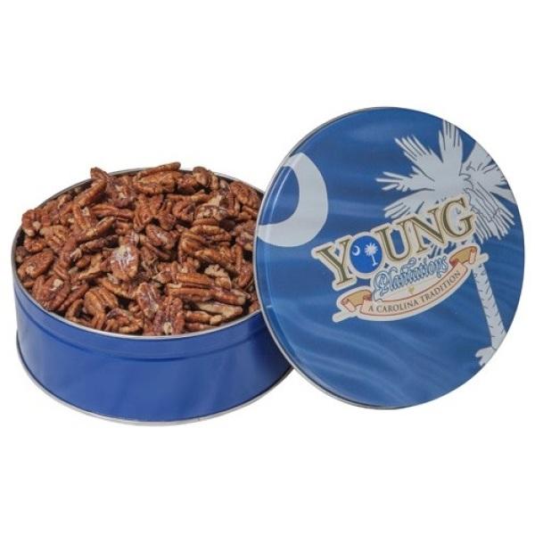Roasted & Salted Pecans - 1 lb 4 oz Tin