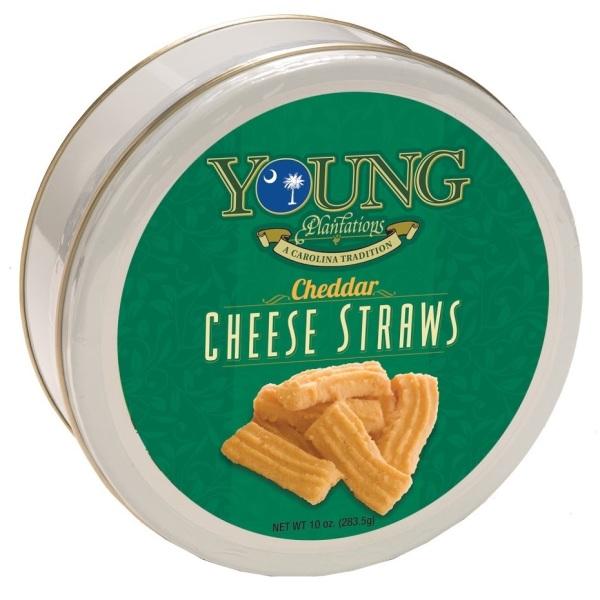 Cheddar Cheese Straws Tin