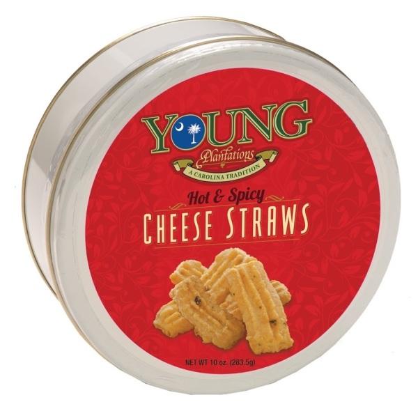 Hot Cheese Straws Tin