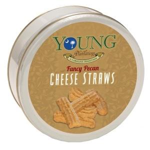 Pecan Cheese Straws Tin