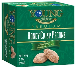 Honey Crisp Pecan Mini Boxes - Case of 12