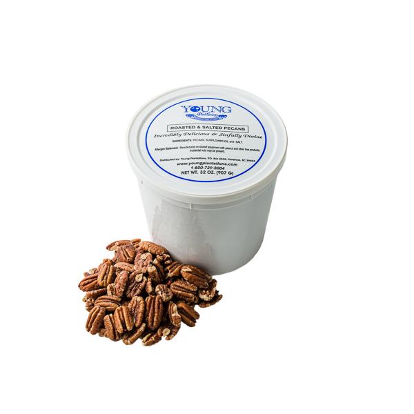 Roasted & Salted Pecans Tub