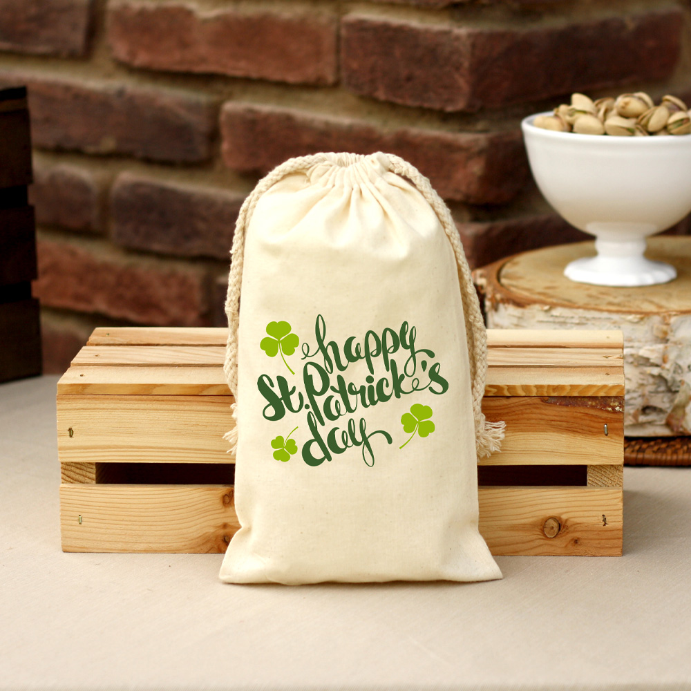 14 oz St. Patrick's Day Bag Roasted & Salted Pistachios