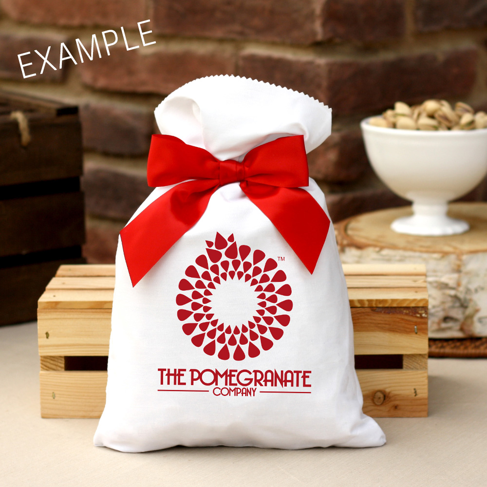 2 lb Corporate Holiday Bag Roasted & Salted Pistachios