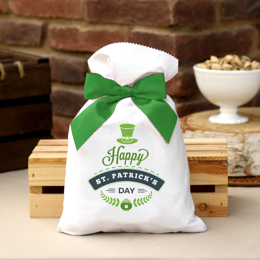 2 lb St. Patrick's Day Bag Roasted & Salted Pistachios