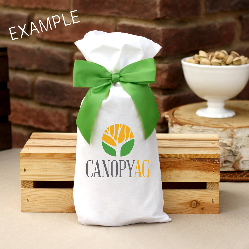 14 oz Corporate Holiday Bag Roasted & Salted Pistachios