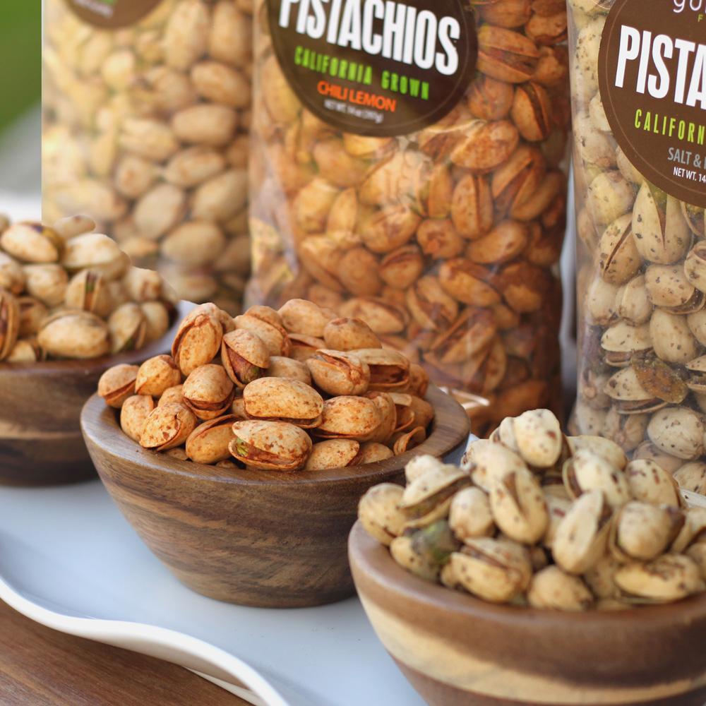 Flavored Pistachio Trio